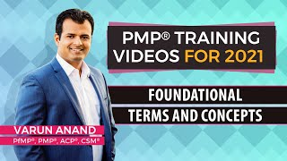 Gambar cover PMP exam prep - PMP certification- PMP 6th edition training videos-Terms and Concepts (2019)-Video 4