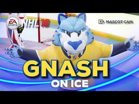 NHL 18 Mascot Cam on Ice | Gnash (Nashville Predators)