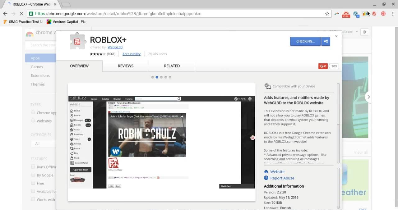 How To Download Roblox On Google Chrome Youtube