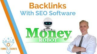 Backlinks with SEO Software Money Robot