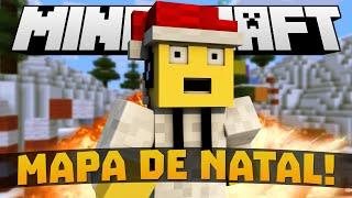 SKY WARS: MAPA DE NATAL & TERROR! - Minecraft