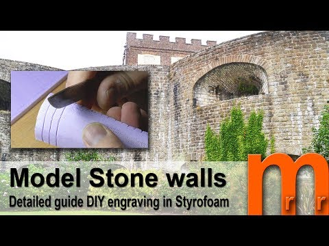 Realistic stone walls – Detailed guide DIY