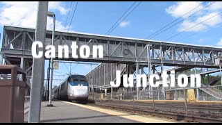Good Old Canton Junction: Afternoon Action on the NEC!