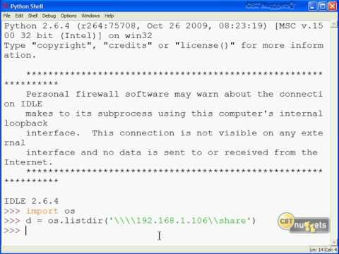 Python 12   Accessing the Network and Internet