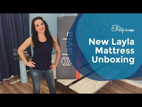 New Layla Mattress Unboxing