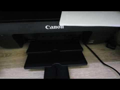 Как достать картридж из принтера canon