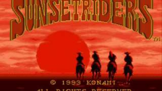 Super Nintendo - Sunset Rider (1993)