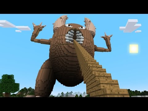 Minecraft vs Pokemon go | GIGA PINSIR!! | (PvZ/Pokego Land)