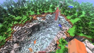 MINECRAFT 1.9 HUGE TNT EXPLOSION IN RAVINE (Recovered Footage!)