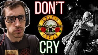 "Hip Hop Head's First Time Hearing ""don't Cry"" By Guns N' Roses"