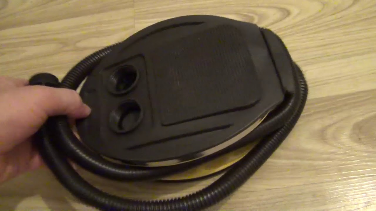 KingCamp Bellow Foot Air Pump for Camping Air Mattress Bed Pad Mat