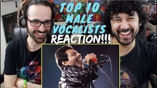 TOP 10 MALE VOCALISTS - REACTION & ANALYSIS!!!
