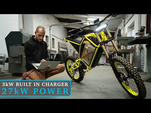 Making Of CyberBike / Introducing 27kW Electric Motorcycle!