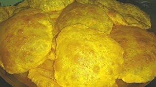 """তালের লুচি   """"Janmashtami Special"""" Palmyra Fruit Puri / Palm Fruit Puri   Taler Luchi / Tal Puri"""