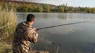 Рыбалка - Старый Водобуд (Липцы) - Эпизод с поклевками - КАРП И КАРАСЬ