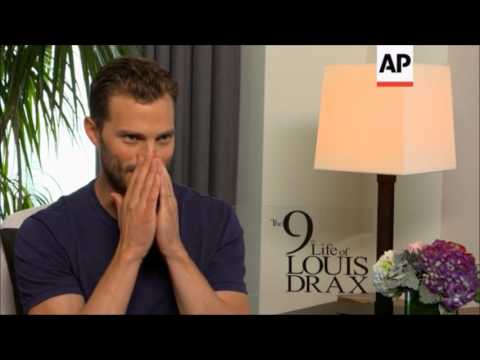 Jamie Dornan - The 9th Life of Louis Drax AP Interview