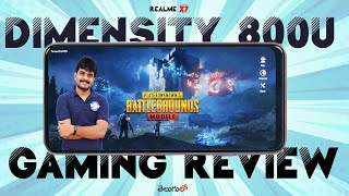 Realme X7 Mediatek Dimensity 800U Gaming Review & temp Check ll in Telugu ll