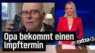 """""""extra 3""""-Extra – Impfstart in Deutschland"""