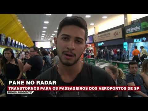 Pane no radar gera transtorno em aeroportos de SP