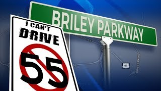 Briley Parkway Speed Limit Audit - 55MPH Nashville, TN