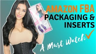 Amazon FBA Product Packaging & Inserts