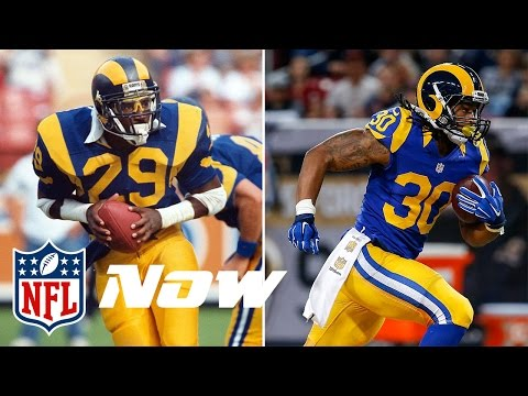 Eric Dickerson to Todd Gurley | NFL Then & Now