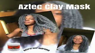 Aztec Clay Mask for Natural Hair Natural Hair Approved
