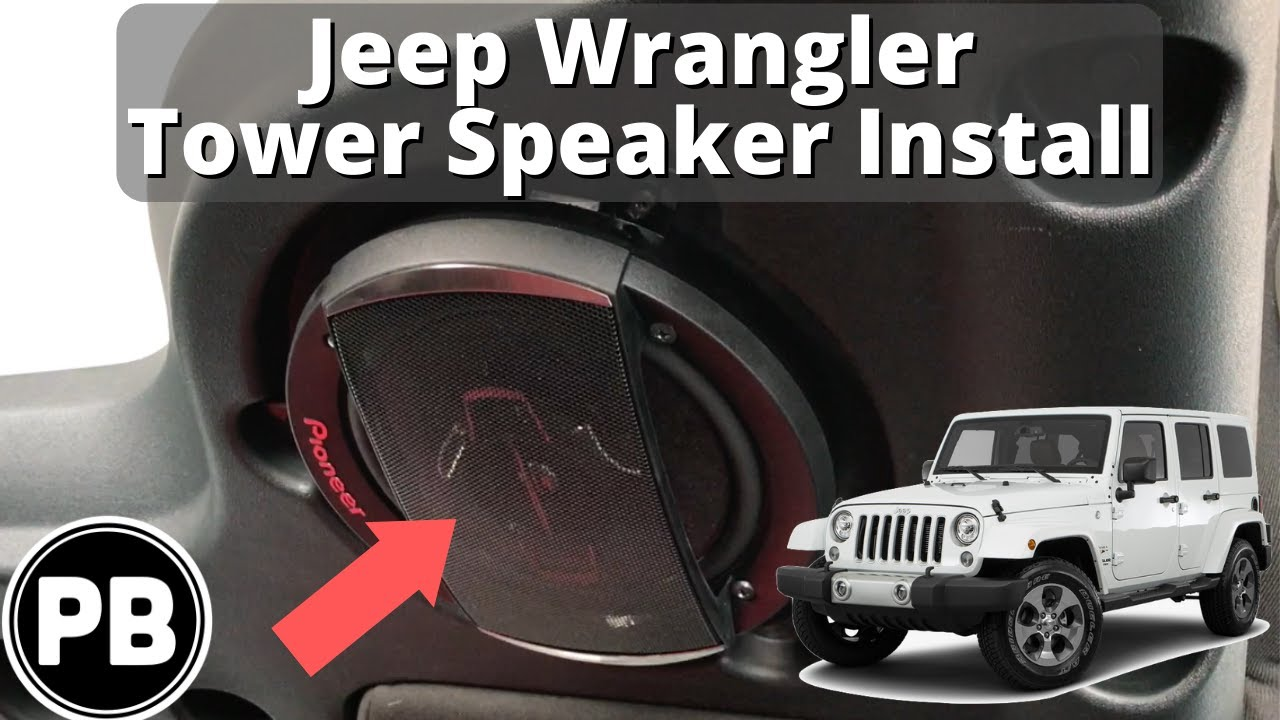 Jeep Wrangler Speakers Size