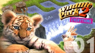 Let's Play Wildlife Park 2 FREEPLAY (ALL EXPANSIONS) - Episode 01 - Waterfall!