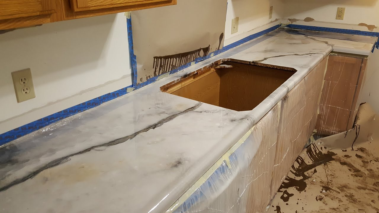 Make Your Own Countertops Diy