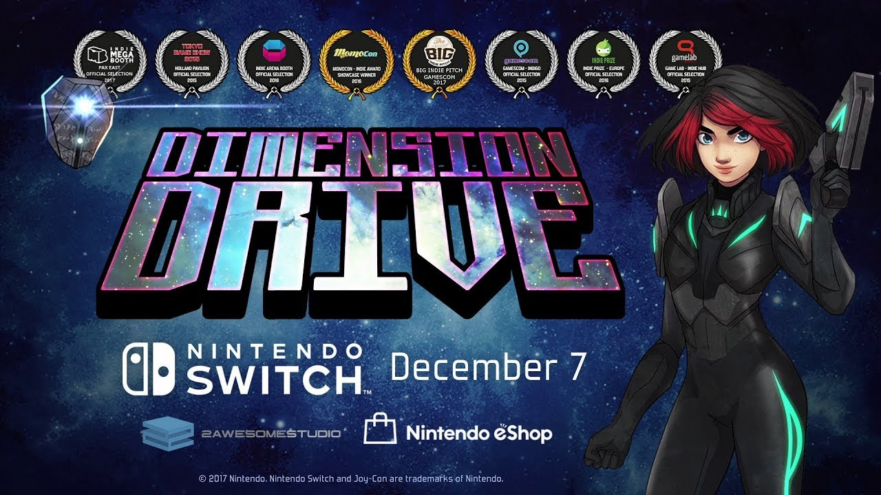 Dimension Drive - Review (Switch, PS4, steam) - StackUp org