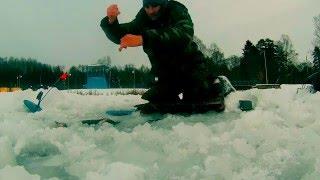 Ловля Ротана на Жерлицы Зимой. Рыбалка в Подмосковье