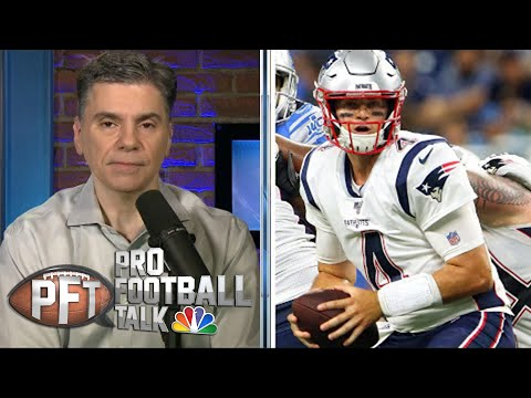 What's more likely: Jarrett Stidham or Brian Hoyer starts in NE? | Pro Football Talk | NBC Sports