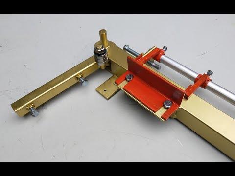 Homemade Metal Bending Tool   Making A Powerful Metal Bender