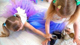 НастяПлей и Марго хотят одно и тоже платье и украшения