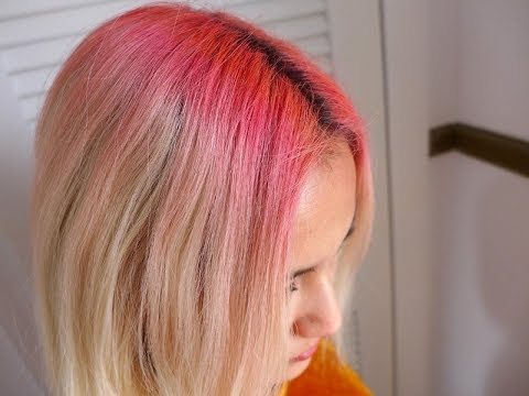 how to hair chalk your roots xovain youtube