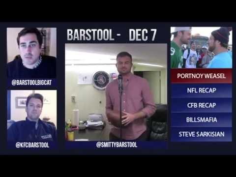 Barstool Rundown // December 7th 2015