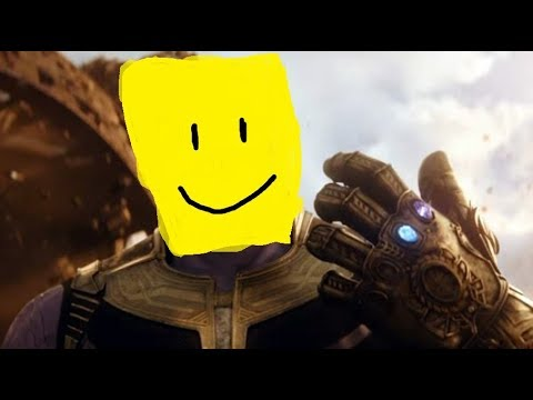 Infinity War Deaths But With Roblox Death Sound Youtube