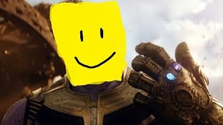 infinity War deaths but with roblox death sound