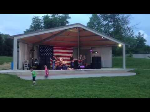 Bad Company, Rock Steady, Mount Orab Music In The Park, Live Out Door Concert! Live Action!