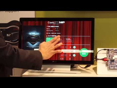 Embedded World 2016 Storyboard Suite GUI Demo: Movie Kiosk