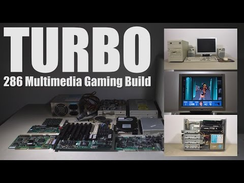 "1991 ""TURBO"" Multimedia Gaming Build, 286 16mhz, Soundblaster 2.0"