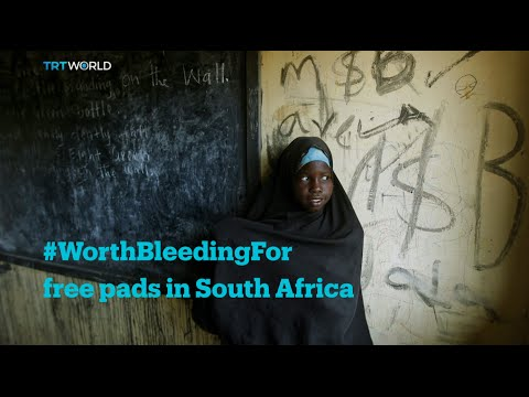 #WorthBleedingFor: No pads - No school for African girls