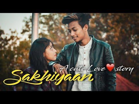 SAKHIYAAN || Mainder Buttar || A Cute Love Story || Shubham And Sonal || Rahul Nayak DanceLive