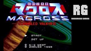 Macross: Scrambled Valkyrie - Super Nintendo - Intro & Gameplay [720p 60fps]