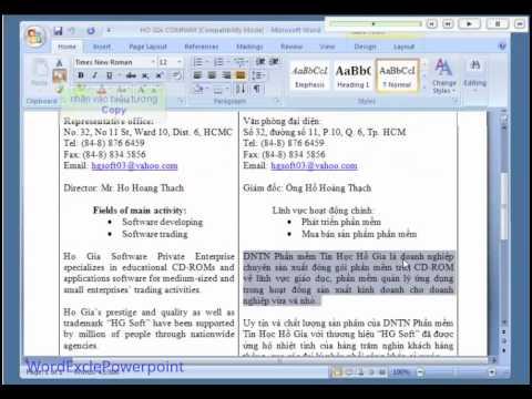 Học Word cơ bản | Bài 4 – Chọn Khối Văn Bản Và Thao Tác Trên Khối