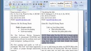 Học Word cơ bản | Bài 4 - Chọn Khối Văn Bản Và Thao Tác Trên Khối