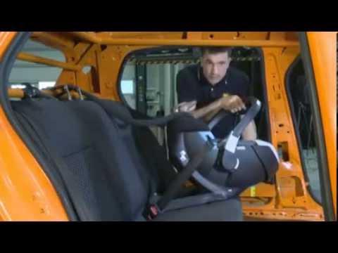 Краш-тест детских автомобильных кресел (33 модели)
