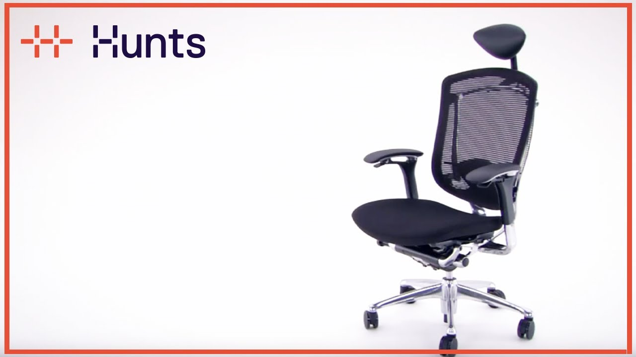 - Contessa Executive Chair Adjustment Functions - YouTube
