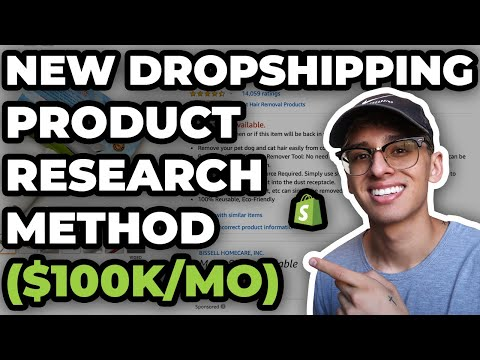 New Dropshipping Product Research Method (FIND $100K PRODUCTS)